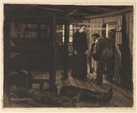 ende (3 works) by käthe kollwitz