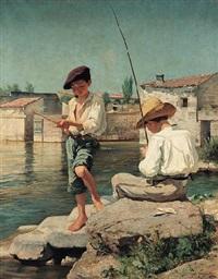 de små fiskarpojkarna by axel jungstedt