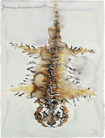 fourrure de tigre by huang yong ping