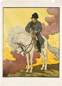 the january century/the best life of napoleon by eugène grasset