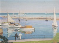 wilmette harbor by tom milton wilder