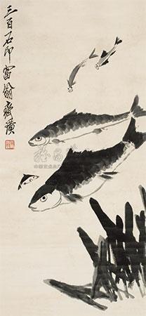 鱼乐图 by qi baishi