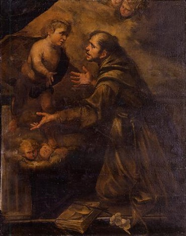 saint anthony by gioacchino assereto