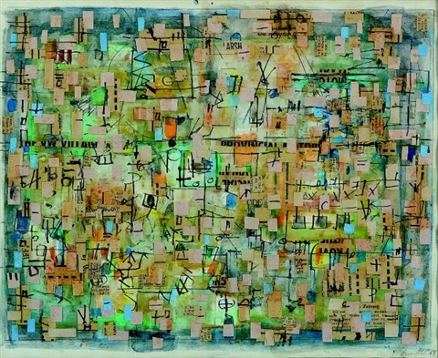 collage no67 by yvonne audette