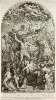 eminent: et rmo principi, ac domino d. hannibali cardinali albano episcopo sabinorum s.r.e. camerario vaticane basilice archipresbytero by jacob frey