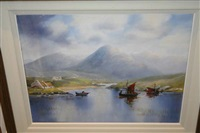 lowering the sails, connemara by sarah mcneill
