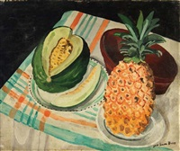 pineapple and melon by jane simone bussy