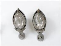 lampade da parete da esterno (2 works) by giuseppe ostuni