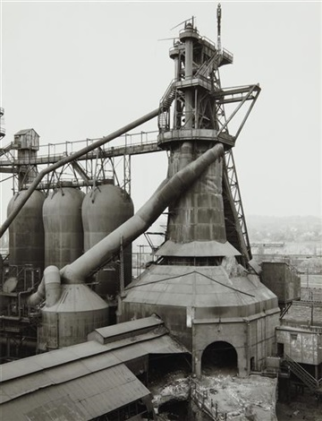 youngstown works blast furnace 3 by bernd and hilla becher