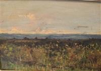 paysage d'italie by lorenzo delleani