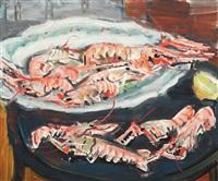natură statică cu homari by max arnold
