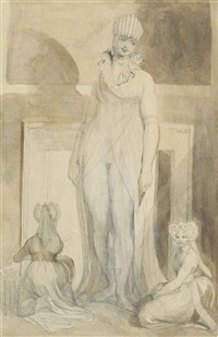the fireplace by henry fuseli