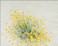 keltaisia kukkia by aimo kanerva