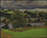 petite rivière, nova scotia by james edward hervey macdonald