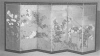 flowers of the seasons by japanese school-rimpa (19)