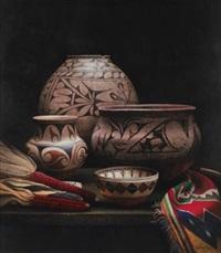 pueblo chiaroscuro by patricia dobson