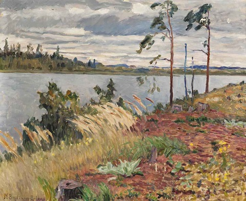 the river daugava by nikolai petrovich bogdanov belsky