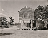 post office, sprott, alabama by walker evans