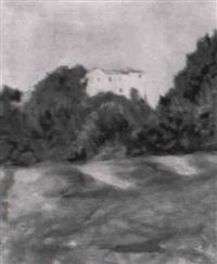 veduta di villa borghese by amerigo (natinguerra) bartoli