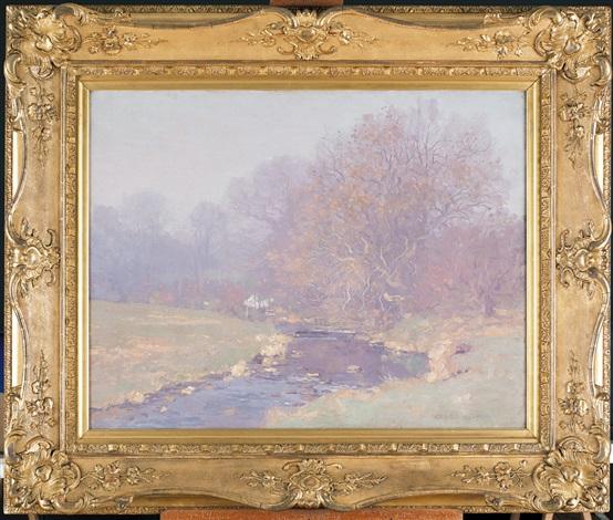 paesaggio sul fiume by george houston