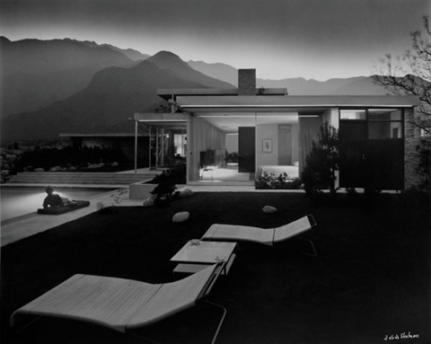 kauffman house by julius shulman