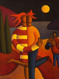 lovers by moonlight by alan kenny