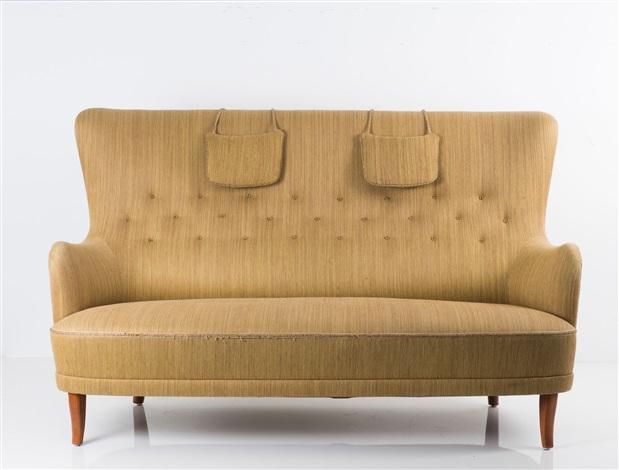 Dreier Sofa dreiersofa patronen by carl malmsten on artnet