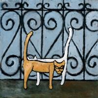 two cats by farid abu-shakra