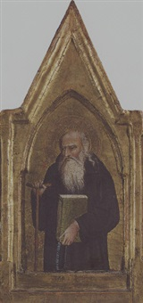 saint anthony abbot by giovanni bonsi