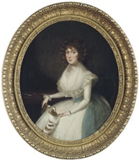 portrait of mrs. symonds by francis alleyne