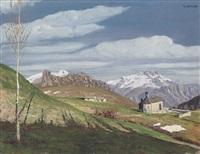 paesaggio di montagna (les grignes) by angelo abrate