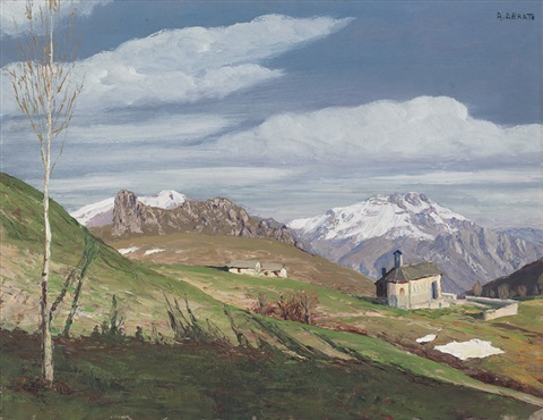 paesaggio di montagna les grignes by angelo abrate