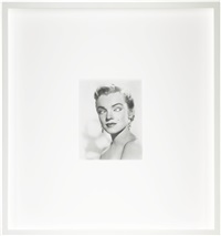 blind star series: mirror blind marylin by douglas gordon