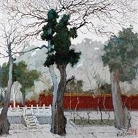 御花园之冬 by pang jun