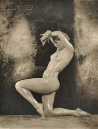 nude dancer (martha lorber?) (5 works) by nickolas muray