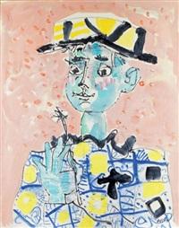 le petit garçon au chapeau by paul aïzpiri