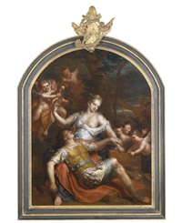rinaldo und armida by gerard hoet the elder