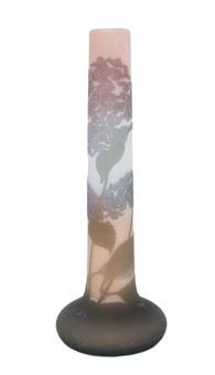 cameo glass vase by émile gallé