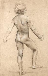 etude d'enfant (study) by luc olivier merson