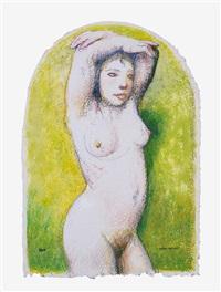 desnudo femenino by matías quetglas