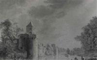 the city walls of utrecht by paul van liender