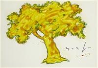albero (arbre) by mario schifano