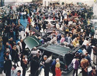 paris, autosalon by andreas gursky