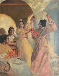 danseuses espagnoles by alexandre lunois