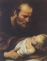 st. joseph with the infant christ by giacomo farelli