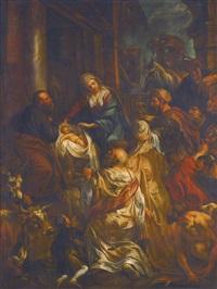 adoration of the magi by jacob jordaens
