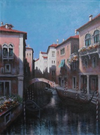 venice canal ii by rugero valdini