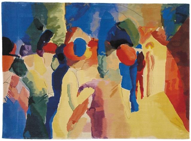 Straßenszene by August Macke on artnet