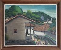 View from House - San Antonio de Oriente, 1962