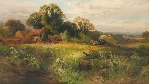 near horsham sussex by john horace hooper